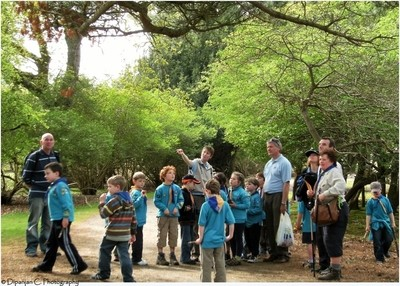 A weekend educational tour at Brown sea island