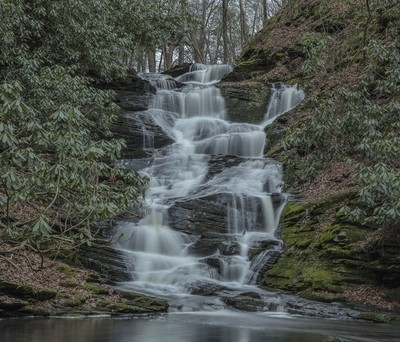 Slateford Creek Falls 1