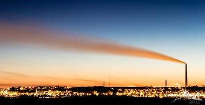 Sudbury Christmas Sunset