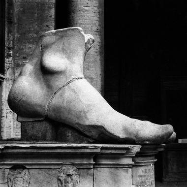 Abandonded Foot