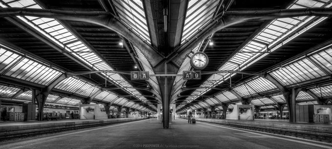 One Passenger by pixxpower - City Life In Black And White Photo Contest