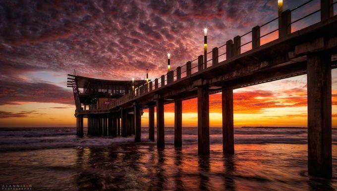 SUNRISE PIER by Alannixon - The View Under The Pier Photo Contest