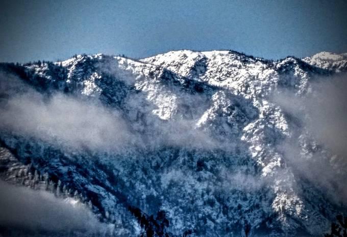 Still more mountains surrounding Leavenworth