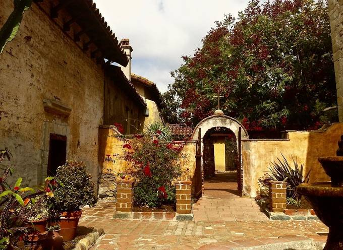 Courtyard at San Juan Capistrano