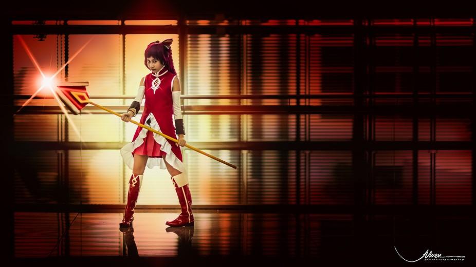 My 12 year old girl as Kyoko Sakura.