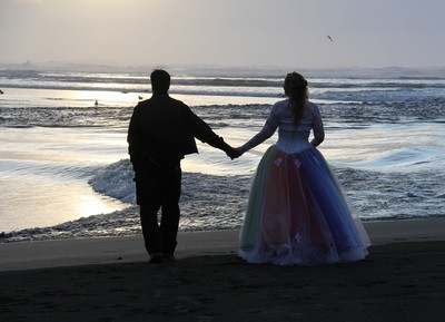 Wedding at the end of the world