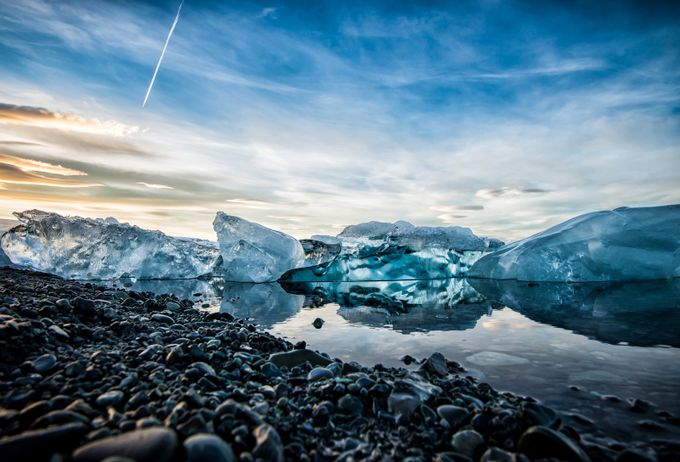 Jökulsárlón by craigboudreaux - Around the World Photo Contest By Discovery