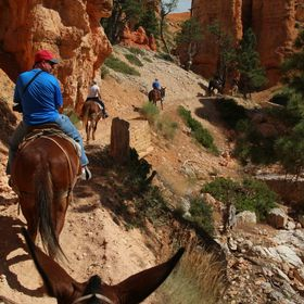 Ride thru Bryce Canyon