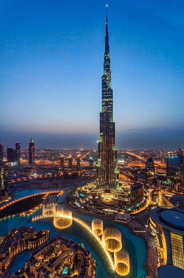 Burj Khalifa, Dubai by shahbazmajeed - Tall Structures Photo Contest