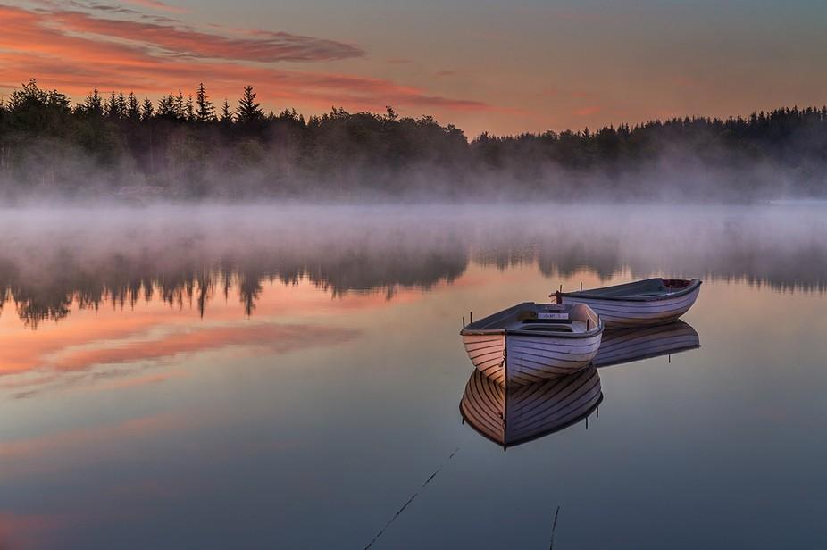 Loch Rusky Dawn, Scotland