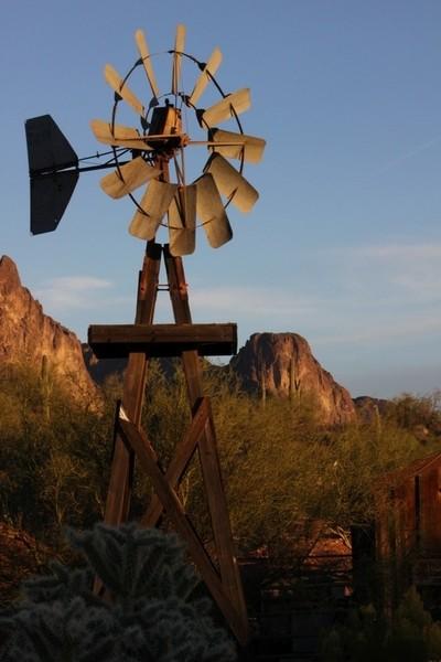 Goldfield, Arizona  Windmill
