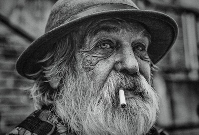 homeless Dane in Germany