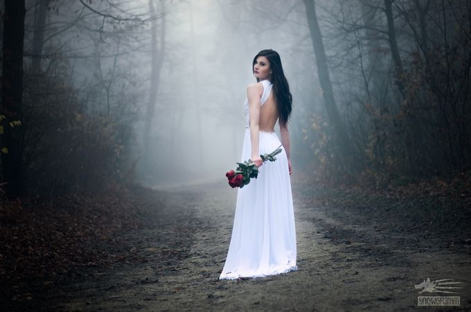The Lady in White by Snowgrimm - Celebrating Fashion Photo Contest