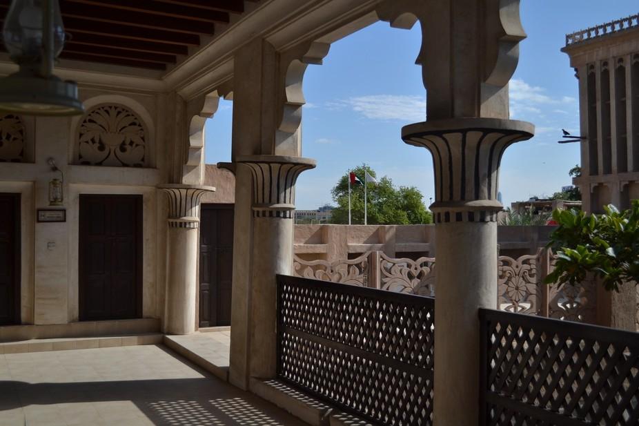 Bastakiya arches