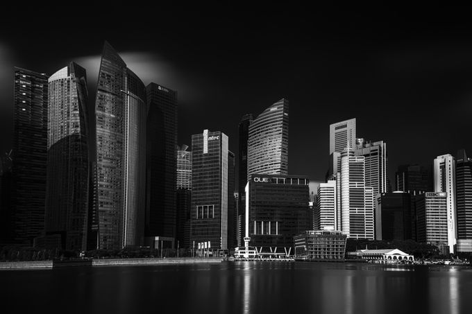 Business District by Jravi - Modern Cities Photo Contest