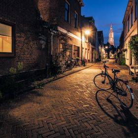 My means of transportation during my stay in Delft, fitting in the most quaint Trompetstraat (Trumpet Street).