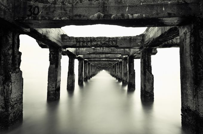 Under & into by Azmedaj - The View Under The Pier Photo Contest
