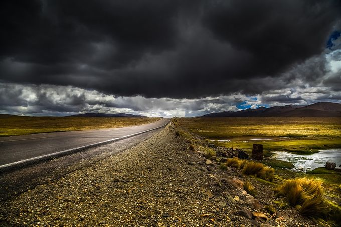 RAINY by Missklik - Country Roads Photo Contest