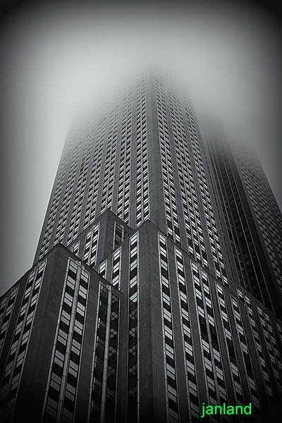 Empire State Fogged