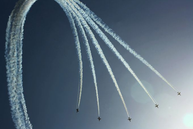 Red Arrows by alekseisolovjov - Everything Smoke Photo Contest