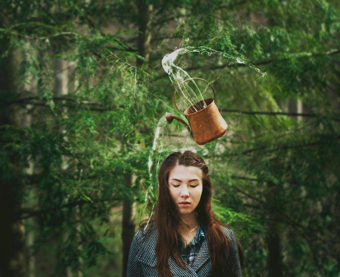 Pour Up, Pour Down, Pour Out  by EricaAlmquist - Levitation Art Photo Contest