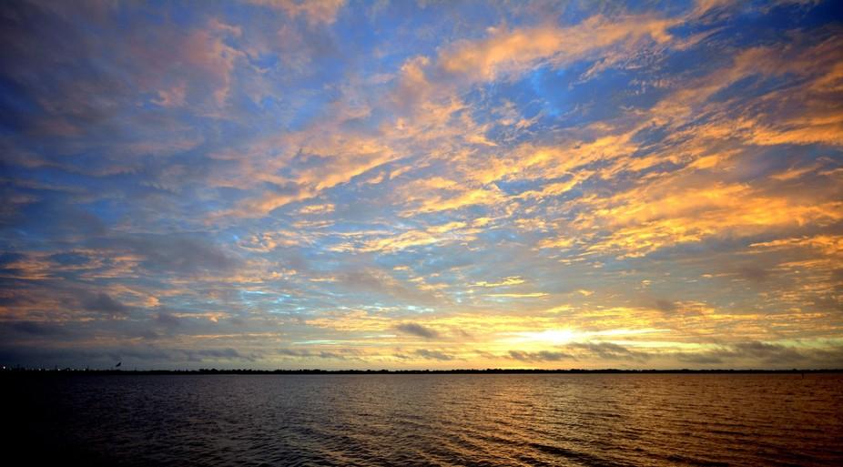Dawn awakens on Sykes Creek close to Kennedy Space Center, Florida.