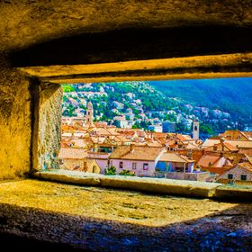 The view a Dubrovnik city guard would have seen while on patrol of the walls.