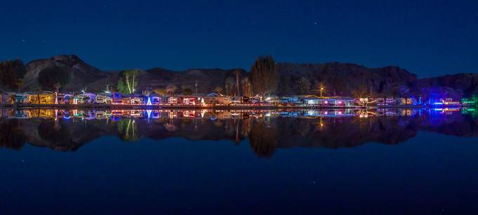 Christmas on the Colorado by dbarile - Holiday Lights Photo Contest 2017