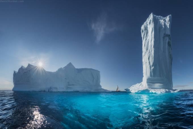 Greenlandic skyscraper by DanielKordan - A World Of Blue Photo Contest