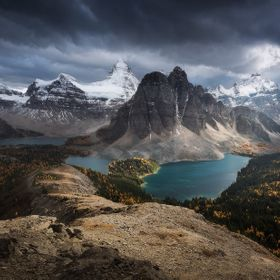 Assiniboine mountain, Canada