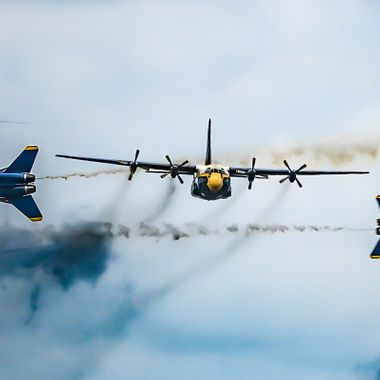 FAT ALBERT AND THE BLUE ANGELS