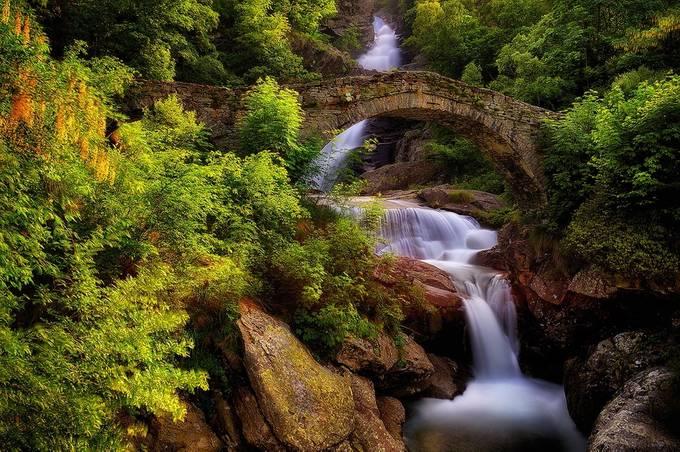 Old roman bridge by aidagri - Streams In Nature Photo Contest