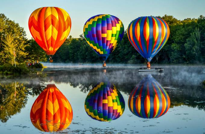 3 Balloons by guendella - Bright And Colorful Photo Contest