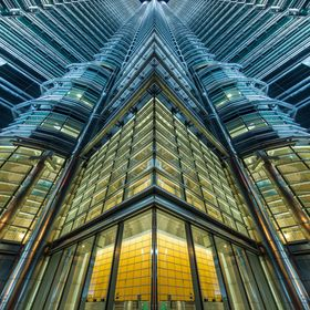 Vertical Shot of the KLCC in Kuala Lumpur. Hope you like it.