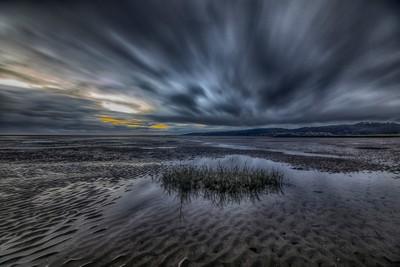 Llanelli stormy clouds
