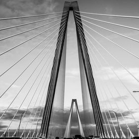 Arthur Ravenel Bridge in Charlston, SC...Drove over many times for my daughters chemo.