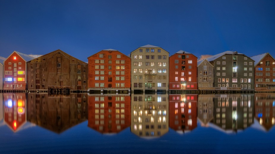 Bakklandet in Trondheim,Norway. (29.12.15)