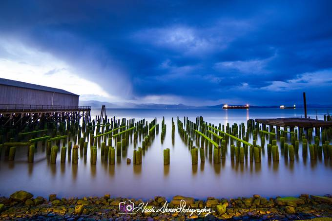 Astoria Pier Pilings by HIPHeidiIhnen - Parallel Compositions Photo Contest