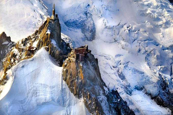 AIGUILLE DU MIDI by Missklik - Sweeping Landscapes Photo Contest