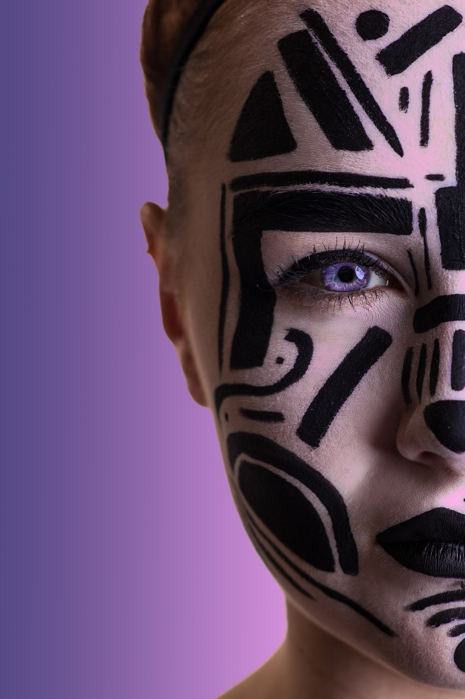 Tribal by philowen - Paint And Makeup Photo Contest