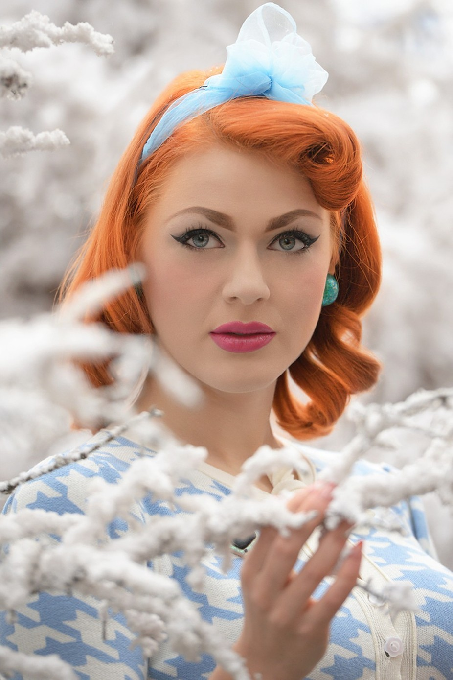 Snow Queen by Prijaznica - Red Hair Photo Contest