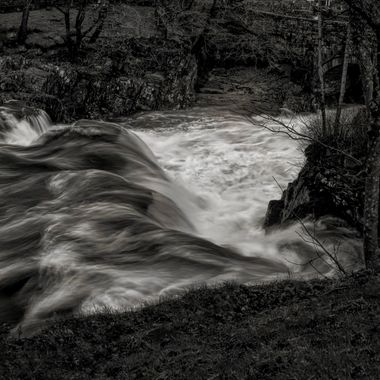 The River Llugwy passes through Betws y Coed in Snowdonia... it provides interest all year for photographers ...