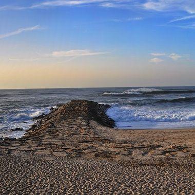 Panorama Aveiro beach