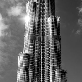 One of the shots taken on my recent trip to Dubai December 2015. I chose to go monochrome with this shot because I just love it. I hope you do to.