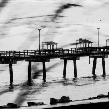 Cloudy Day Pier