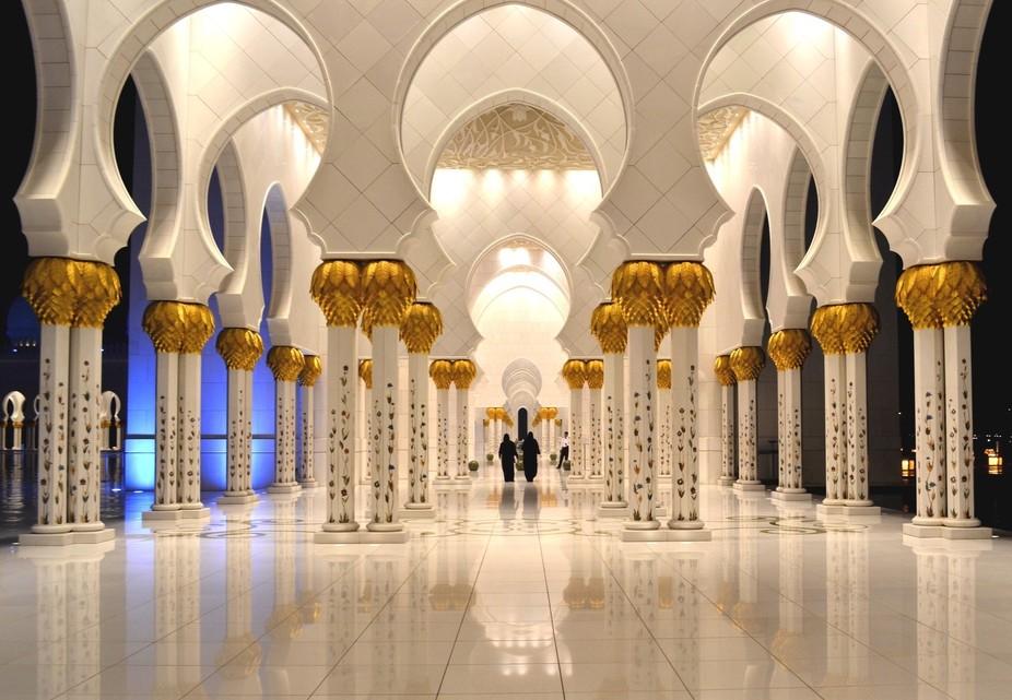 The Grand Mosque Abu Dhabi