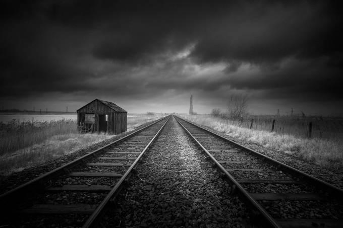 Destiny by Jellyfire - A Black And White World Photo Contest