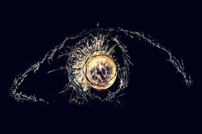 The eye of the Goddess