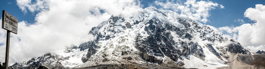 For seaside citydweller, the climb part of the Salkantay trek was almost impassable. 5 hours walk...