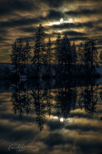 Double Sun Reflection